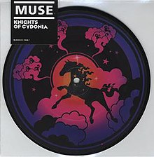 "The ""Knights of Cydonia"" 7"" cover"