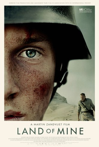 Land of Mine - Theatrical release poster