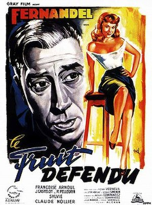 Forbidden Fruit (1952 film) - Film poster