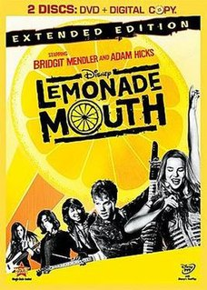 <i>Lemonade Mouth</i> (film) 2011 television film directed by Patricia Riggen