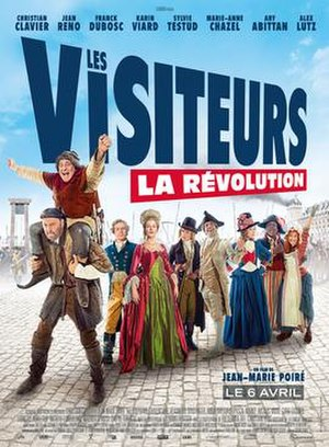 The Visitors: Bastille Day - Theatrical release poster