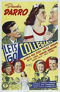 <i>Lets Go Collegiate</i> 1941 film by Jean Yarbrough