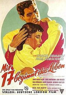 <i>Life Begins at Seventeen</i> 1953 film