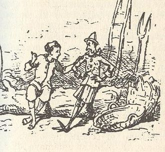 Candlewick (character) - Lucignolo, as illustrated by Enrico Mazzanti
