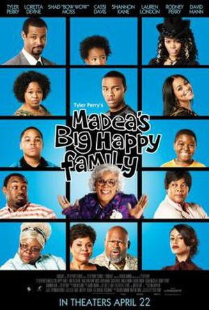 Madea's Big Happy Family (film) - Theatrical release poster