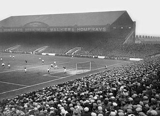 Maine Road - The main stand in the 1930s