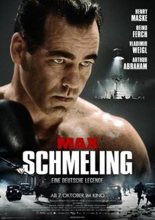 <i>Max Schmeling</i> (film) 2010 German biographical film directed by Uwe Boll