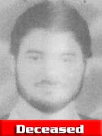 Karim el-Mejjati - FBI-released photo noting his death