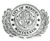 Official seal of Meriden, Connecticut