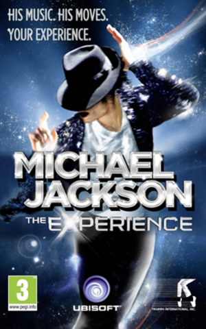 Michael Jackson: The Experience - European box art