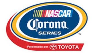 NASCAR PEAK Mexico Series - NASCAR Corona Series logo, 2011