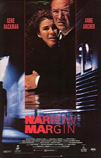 Narrow Margin - Image: Narrow Margin 1990 Poster