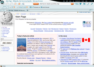 Netscape Browser - The Fusion theme included with version 8.0-8.0.4