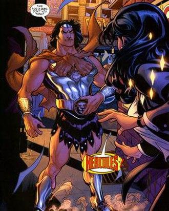 Hercules (DC Comics) - Image: New Hercules