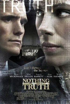 Nothing but the Truth (2008 American film) - Original poster