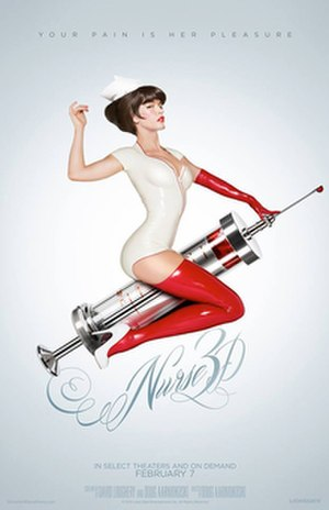 Nurse 3D - Theatrical release poster
