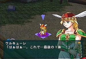 Namco × Capcom - Screenshot featuring Valkyrie
