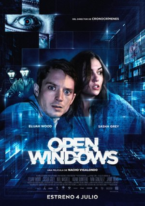 Open Windows (film) - Teaser poster