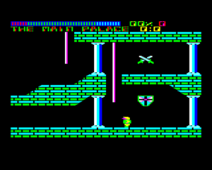 Palace of Magic - In game (BBC Micro)