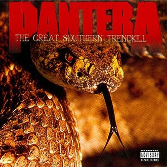 The Great Southern Trendkill - Image: Pantera The Great Southern Trendkill
