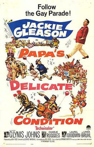 Papa's Delicate Condition - Film poster by Frank Frazetta