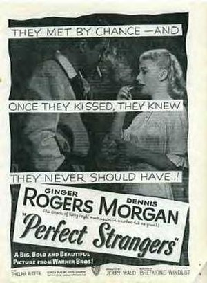 Perfect Strangers (1950 film) - Theatrical release poster