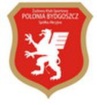 Polonia Bydgoszcz - Image: Polonia Bydgoszcz logo 2007