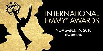 46th International Emmy Awards - Promotional poster