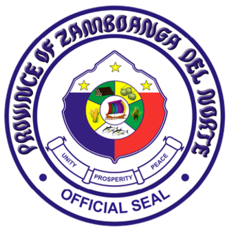 Zamboanga (province) - Image: Provincial seal of Zamboanga del Norte, Philippines