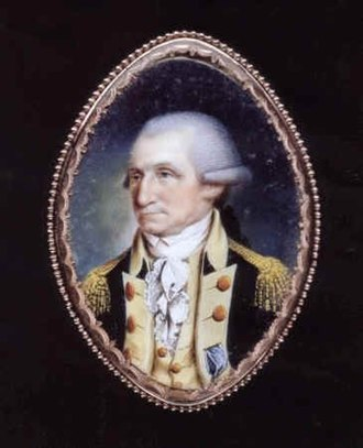 John Ramage (artist) - George Washington by John Ramage.