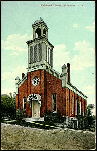Fultonville, New York - Image: Reformed Church Fultonville