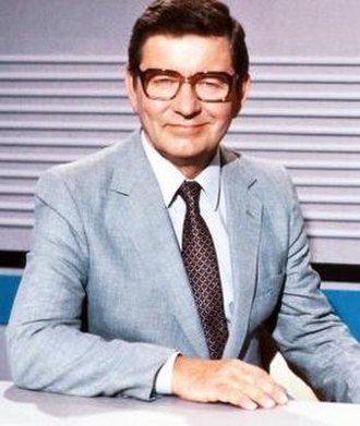 Richard Baker (broadcaster) - Presenting BBC News in 1982