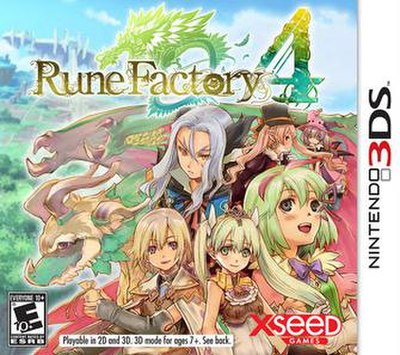 Picture of a game: Rune Factory 4