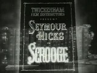 <i>Scrooge</i> (1935 film) 1935 British fantasy film directed by Henry Edwards