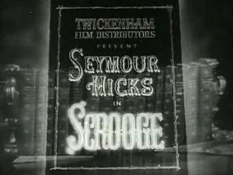 Scrooge (1935 film) - Film Title Frame