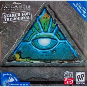 Atlantis The Lost Empire: Search for the Journal - Image: Searchforthejournal