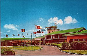 Grantley Adams International Airport - Seawell Airport during the 1960s.