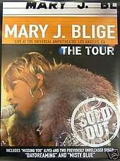 Cartel de la gira de conciertos Share My World.