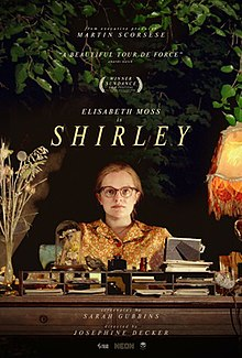 Shirley 2020 USA Josephine Decker Elisabeth Moss Odessa Young Michael Stuhlbarg  Biography, Drama, Thriller