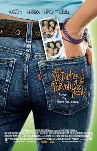 The Sisterhood of the Traveling Pants (film) - Promotional poster, still under the original release date.