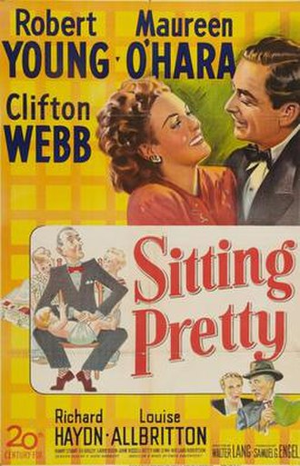 Sitting Pretty (1948 film) - theatrical release poster