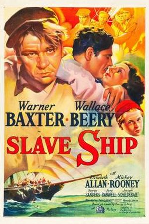 Slave Ship (1937 film) - Image: Slave Ship Film Poster