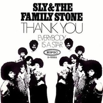 Thank You (Falettinme Be Mice Elf Agin) - Image: Sly fam thankyou star
