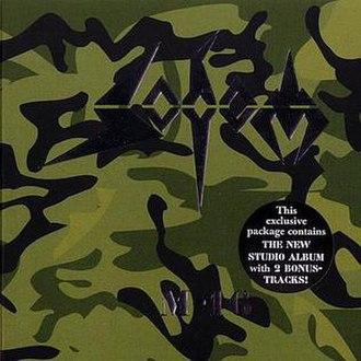 M-16 (album) - Image: Sodom M 16 Digipak