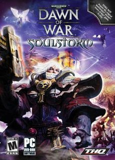 <i>Warhammer 40,000: Dawn of War – Soulstorm</i> video game