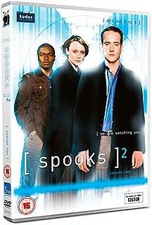 <i>Spooks</i> (series 2) season of television series