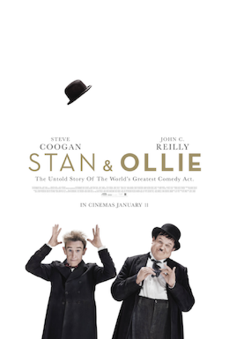 Stan & Ollie - Theatrical release poster