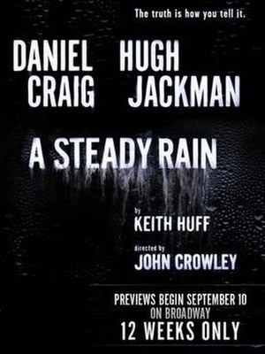 A Steady Rain - Poster for the Broadway production