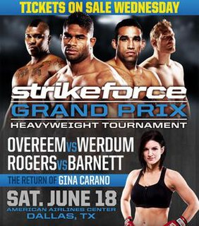 Strikeforce: Overeem vs. Werdum Strikeforce mixed martial arts event in 2011