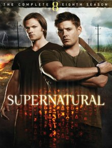 View Supernatural - Season 8 (2012) TV Series poster on Ganool